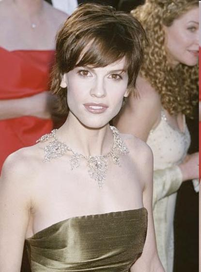 Oscar Jewelry - Hillary Swank