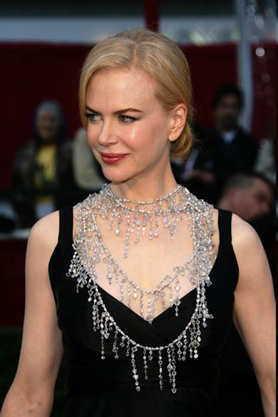 Oscar Jewelry - Nicole Kidman
