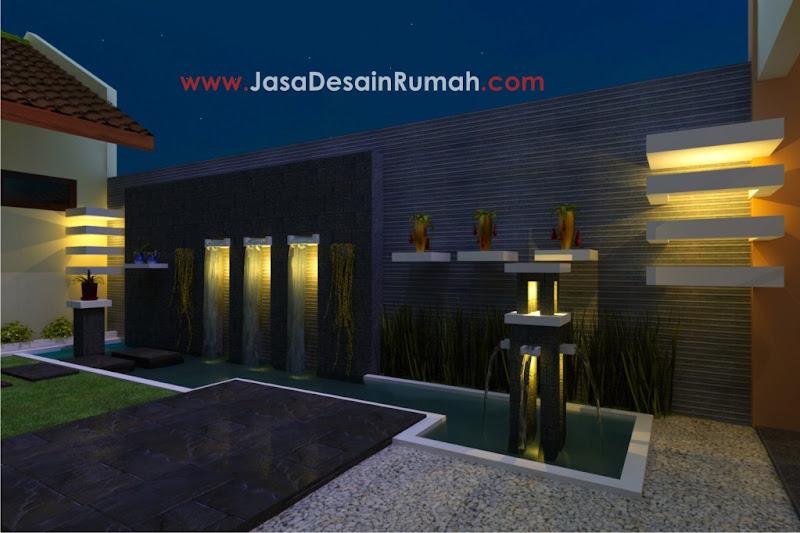 taman simple menawan jasa desain rumah