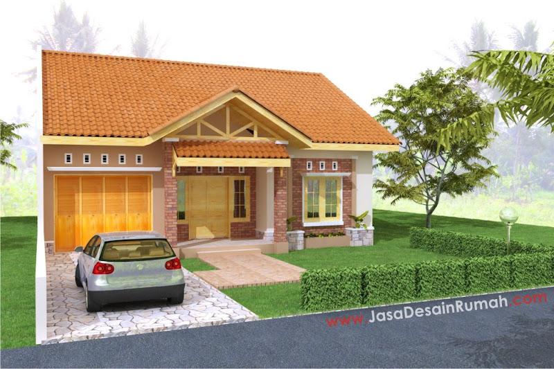 dalam finishing eksterior rumah dengan tampilan sederhana desain rumah ...