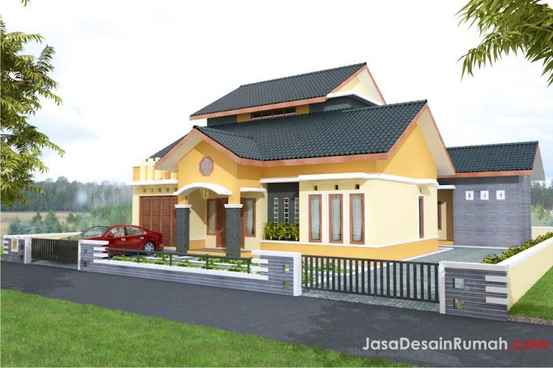 Rumah Megah Elegan di Bengkulu @ Jasa Desain Rumah