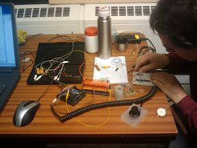 John Honniball, LFSH White Noise Circuit