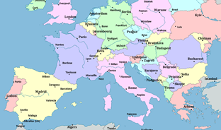 Cartina Europa Da Stampare Formato A4 Pieterduisenberg