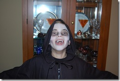 Halloween 2009 Vampire