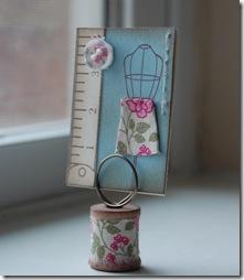 Designer Fabric Card Holder