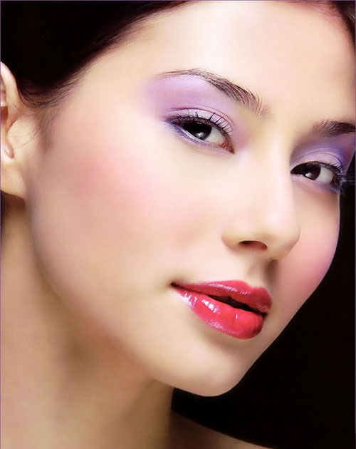 Singaporean Celebrity Model Denise Keller - Asia Top 10 Mixed Beauty