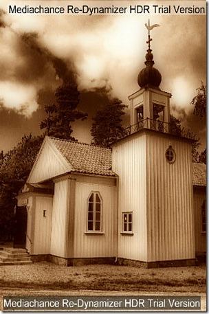 kyrka hdr