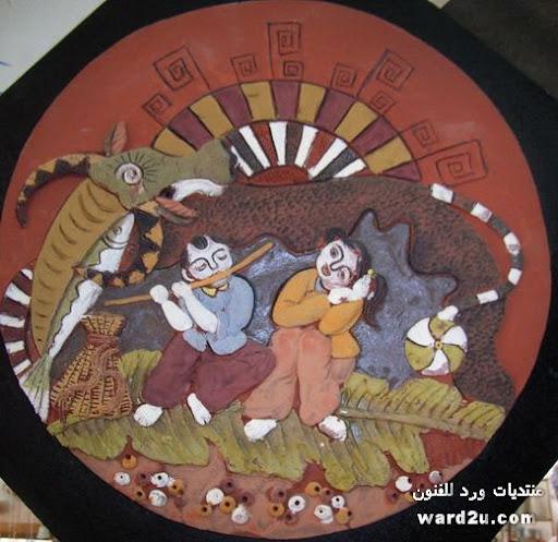 تصميمات صينيه مجسمه فى تابلوهات