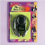 Deluxe 5 Voice Disguiser
