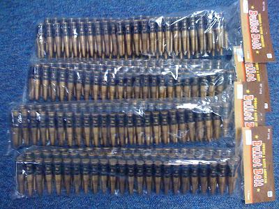 Bandolier Bullet Belt Deluxe, qty 4