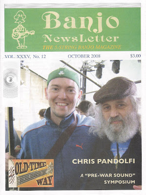 Banjo Newsletter - October 2008