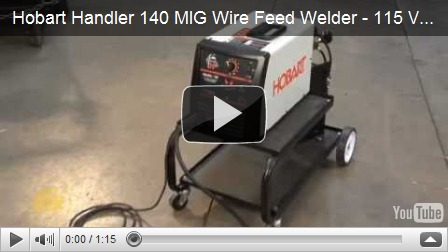 Get a great deal on hobart welders hobart handler 140 at for Mig welder wire feed motor not working