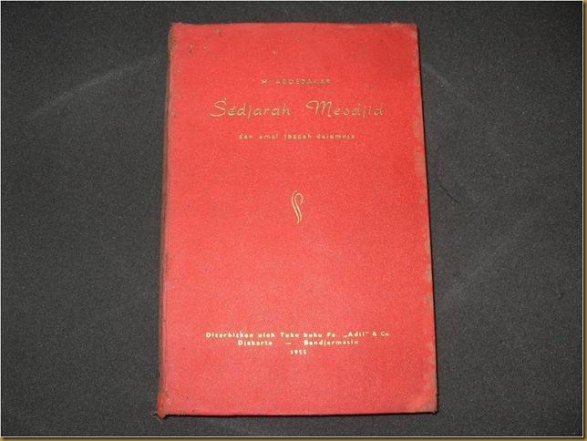 Buku Sedjarah Mesdjid_sampul