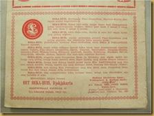 Kertas Iklan Lourdes Orange Crush - bawah