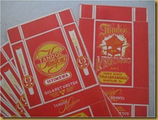 Kertas rokok Tandoe Kentjono - collect old cigarette paper