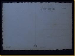 Post Card Gadis Bali - balik