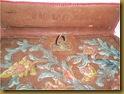 Tas buku kulit Ko yan Koei - tulisan
