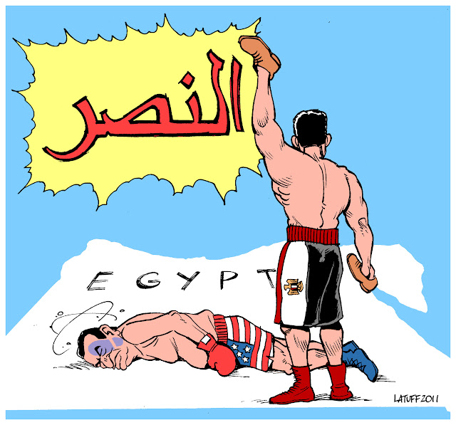 Freedom dawns in Egypt