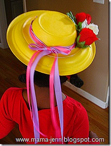 how to make easter hats for preschoolers