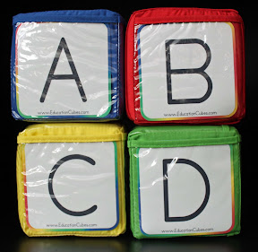 ABCD Education Cubes