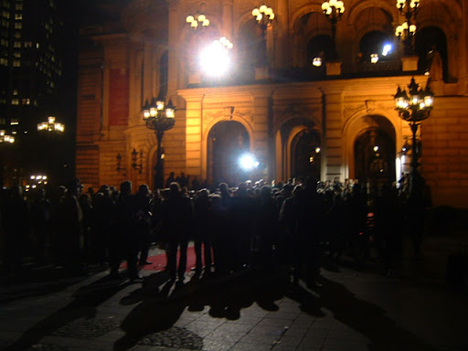 Red Carpet for Hessen Movie at Alte Oper
