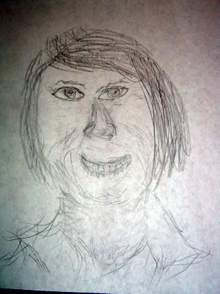 Sketch of Glen Campbell