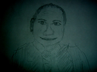 Sketch of Matt Meselson