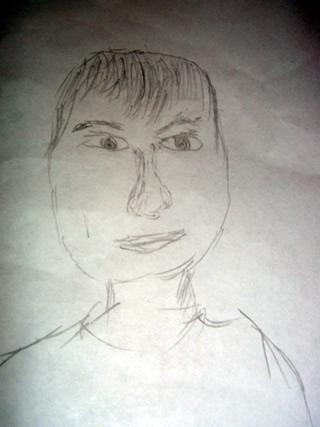 Sketch of Mario Ishii Hernandez