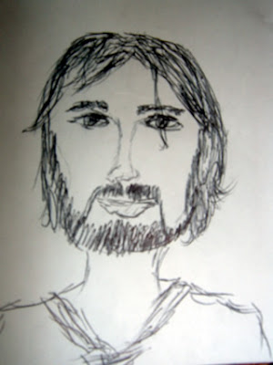 My Sketch of Kevin Drew