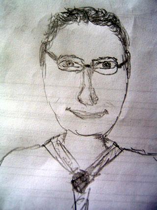 Sketch of Ronald A DePinho