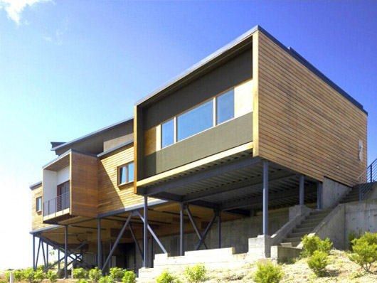 1000 images about a2 architecture unit 3 initial idea for Modern homes on hillsides