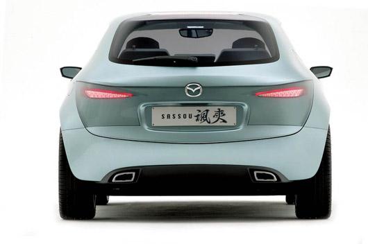 Mazda Sassou Concept Car Exterior