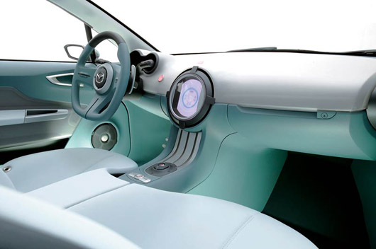 Mazda Sassou Concept Car Steering Wheel