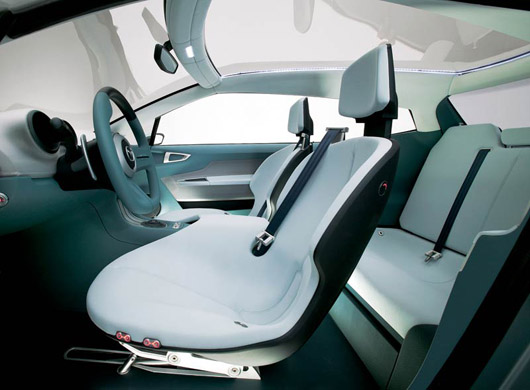 Mazda Sassou Concept Car Interior