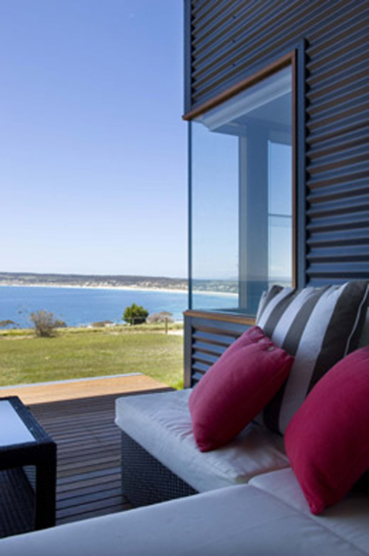 Beach Home Design Outdoor Living Area