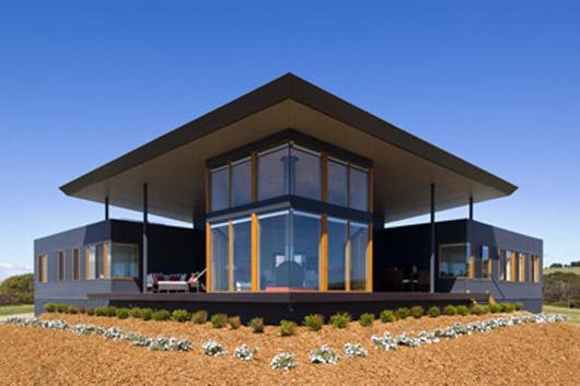 Beach Glass Home Design Architecture Modern