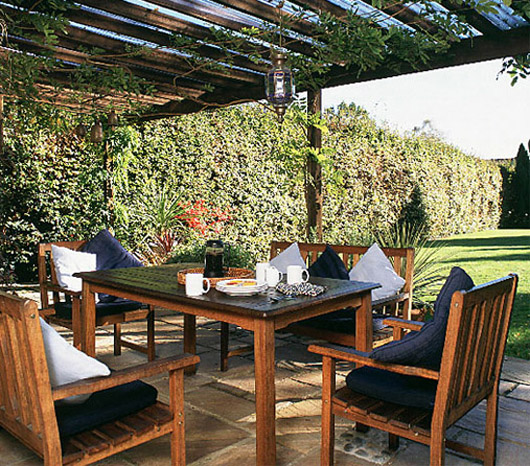 Outdoor dining area ideas home decorating neat dining room for Dining area design ideas
