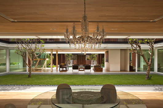 Luxury House Design Outdoor Living Room