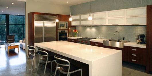 single family home interior kitchen design