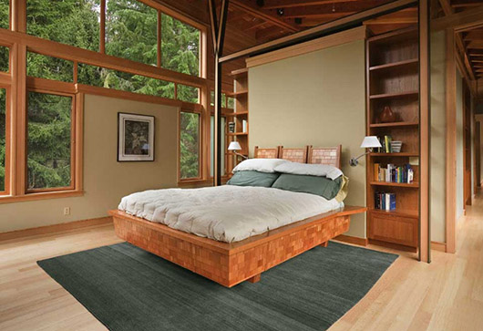 luxury wooden house interior design bedroom ideas