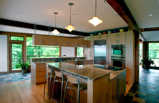 Sustainable Cottage Mountain Home Design Modern - Home Gallery Design