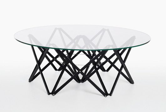 Wood and Glass Table Design Furniture Modern