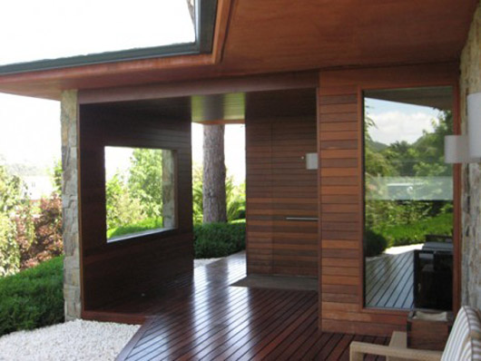 wooden floors exterior terrace design