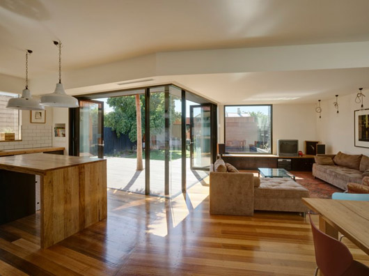 wooden box house design interior decorating