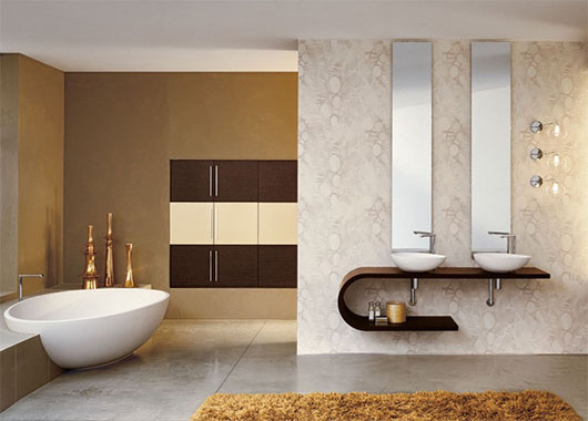 Luxury Contemporary Bathroom Design Interior Ideas
