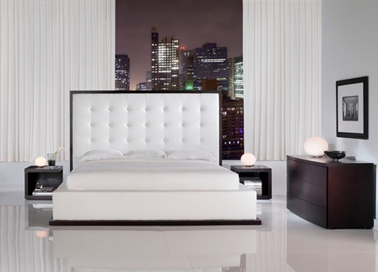 Modern Platform Bed Design Interior Bedroom Furniture
