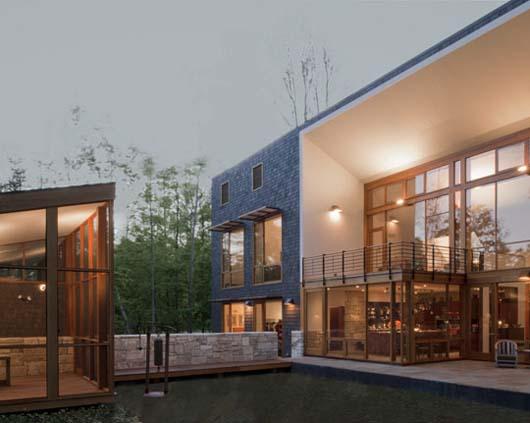 modern home design exterior decorating ideas