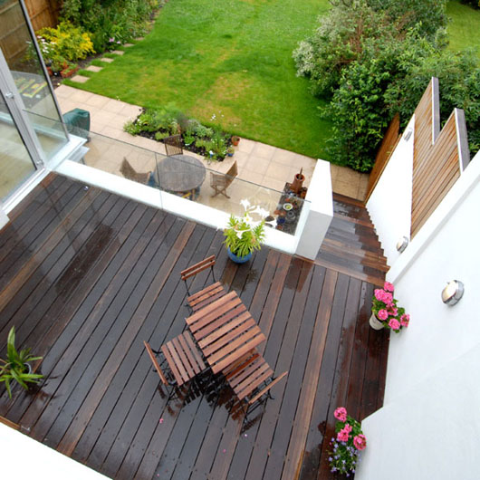 modern house design exterior decorating terrace