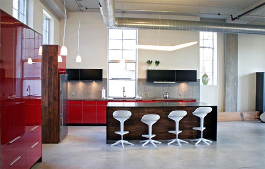 Modern Loft Design Simple And Sleek Interior Decorating - Home ...