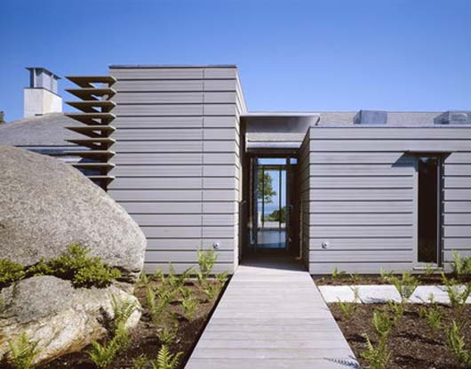 Modern Vacation Home Design With Exterior Space Decorating